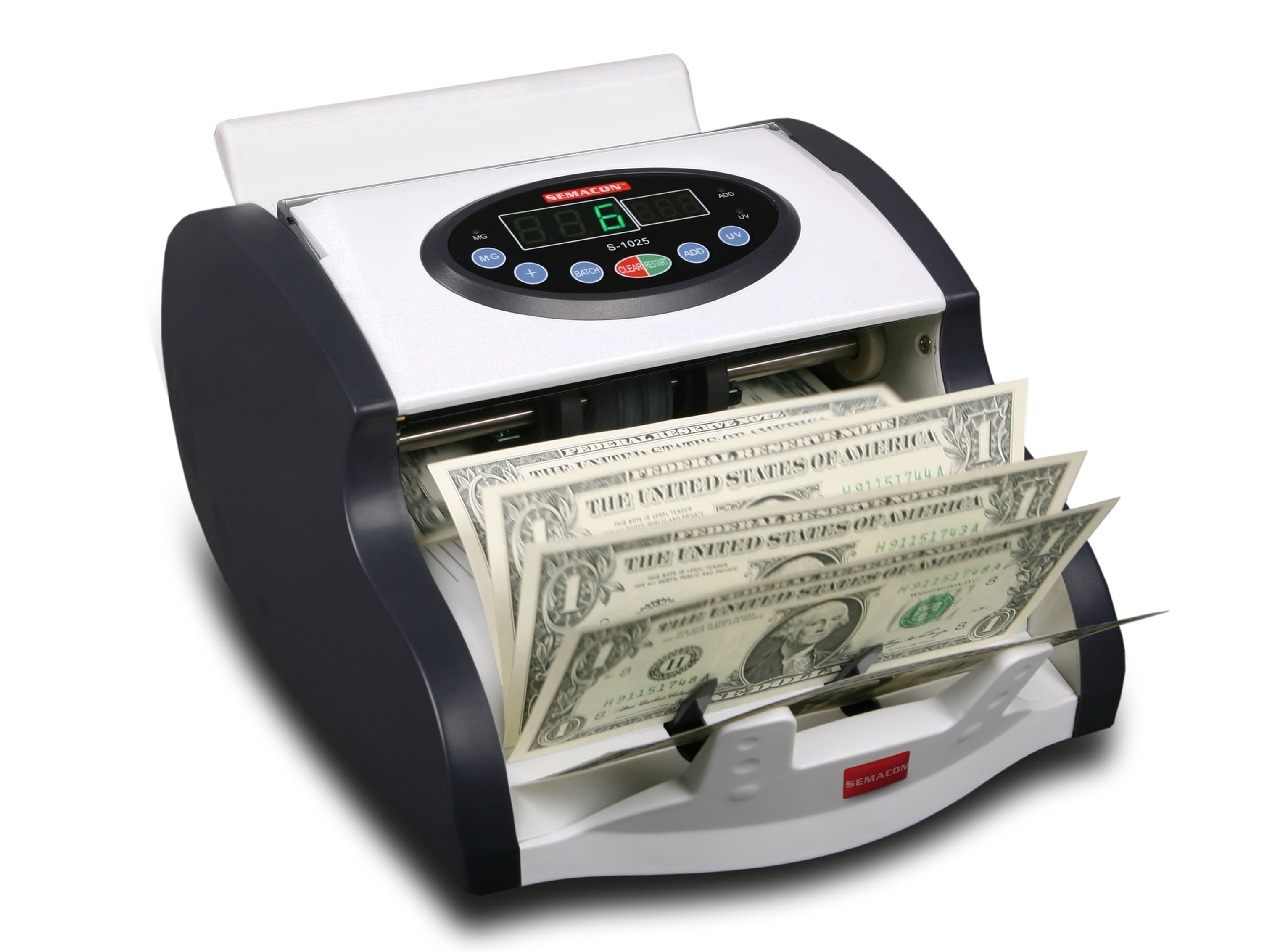 Table Top Mini Compact Currency Counter S-1025