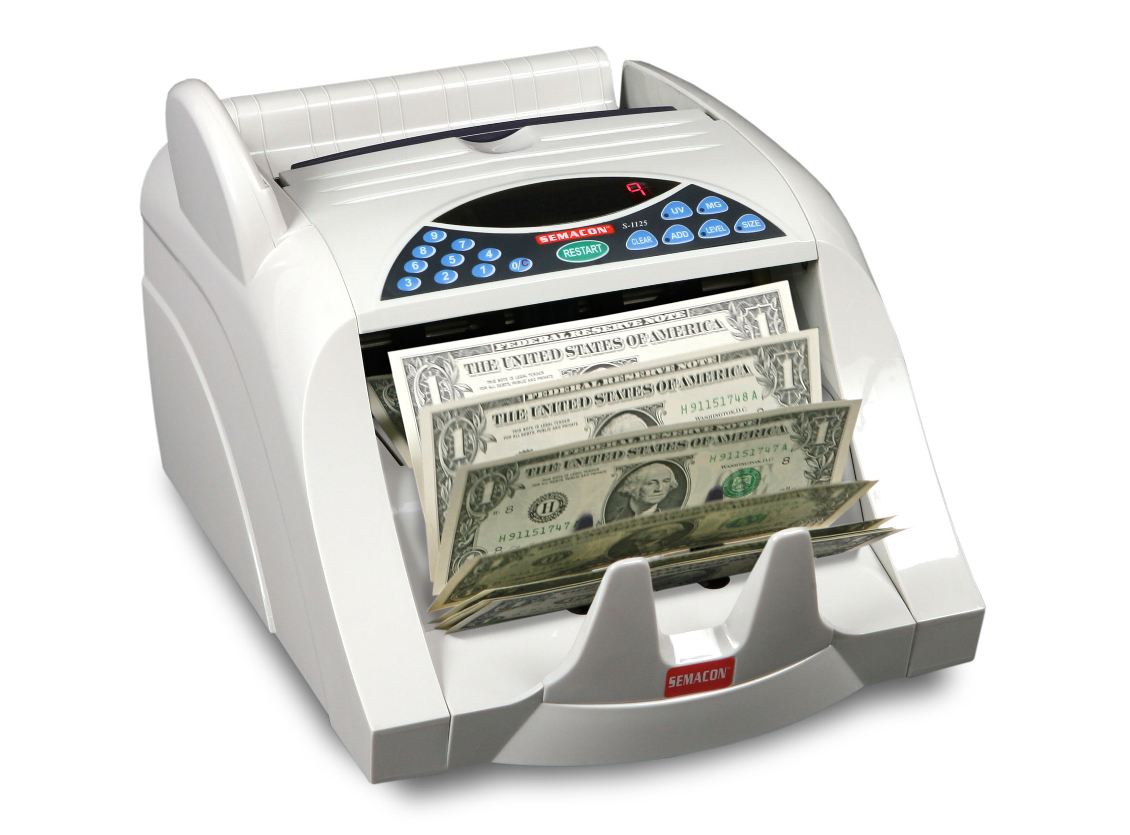 Table Top Heavy Duty Currency Counter S-1100
