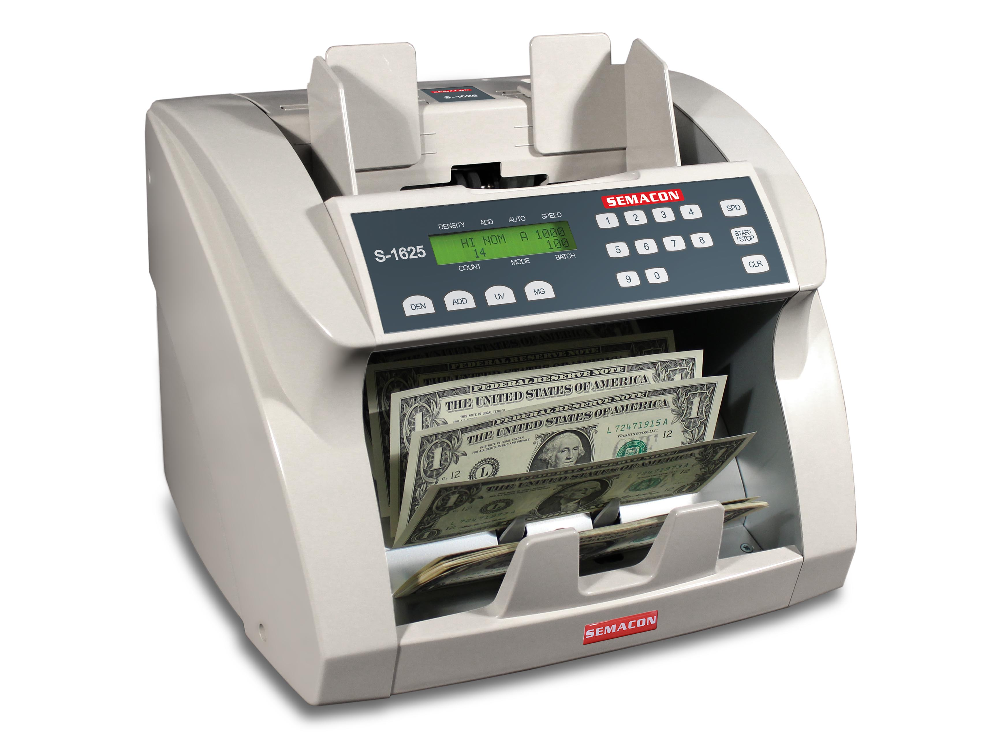Table Top Currency Counter S-1625 (no value mode)