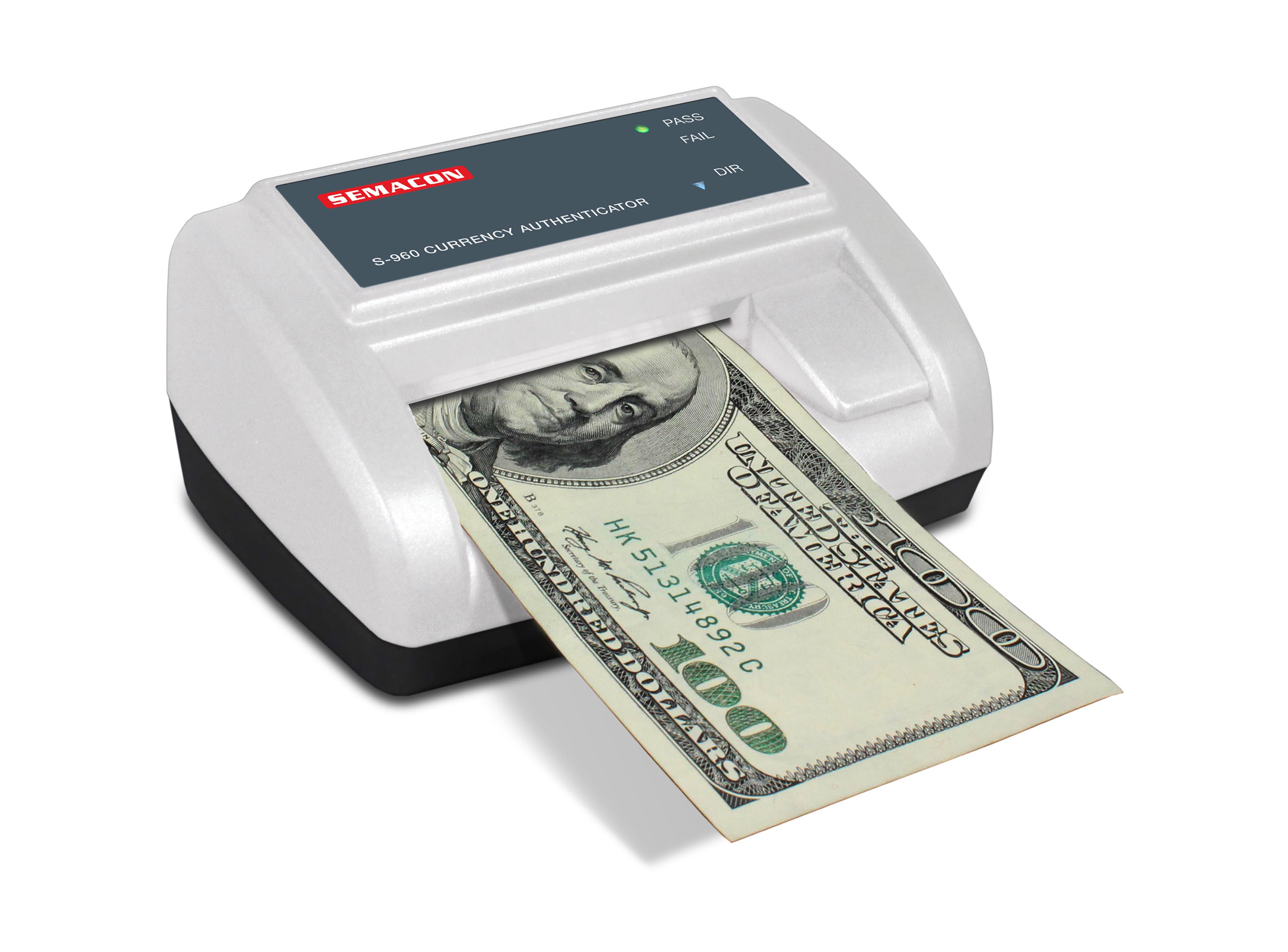 Compact Automatic Currency Authenticator, S-960 Cordless